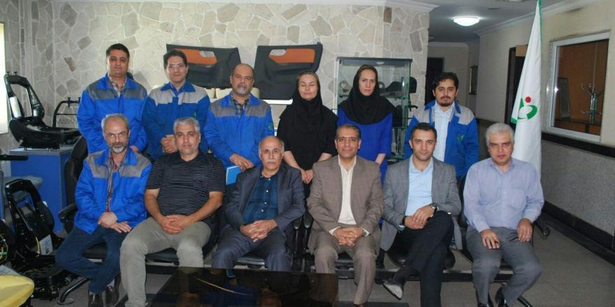 ممیزی شرکت ایران لوازم قطعه
